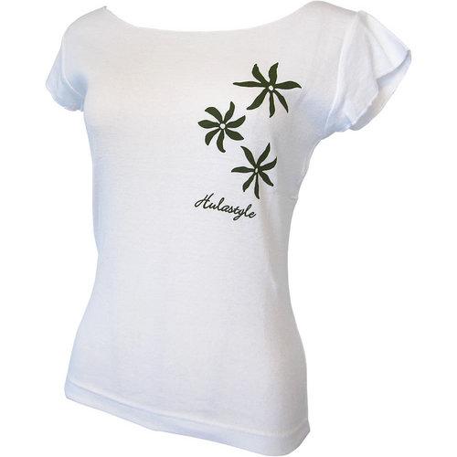 カットオフストレッチTシャツ ティアレ ホワイト