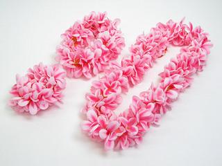 アロハプルメリア 衣装用ブレスレット ピンク