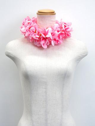 アロハプルメリア 衣装用ヘッドバンド ピンク