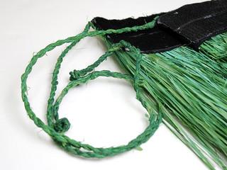 タヒチアン衣装 手作りモレスカート(MOLE)グリーン