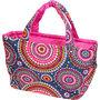 フララニ(Hula Lani)トートバッグ(Lサイズ)ファイヤーワークス ピンク