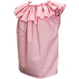 フラダンス衣装トップス フリルショートスリーブ ブラウス ピンク