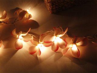 プルメリア ガーランドランプ ライトピンク