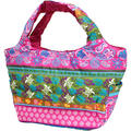 フララニ(Hula Lani)トートバッグ(Mサイズ)ホヌペイズリー ピンク