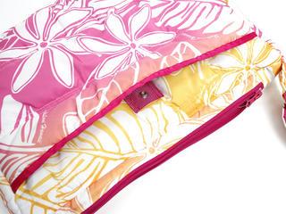 フララニ(Hula Lani)ショルダーバッグ モンステラグラデーション ピンク
