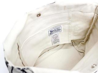 フララニ(Hula Lani)キャンバス トートバッグ パームツリー ホワイト