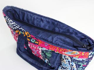 フララニ(Hula Lani)ランチトートバッグ ペイズリーパッチワーク ミックス