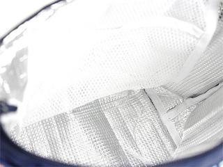 フララニ(Hula Lani)ランチトートバッグ ホヌハワイアンモチーフ サックス