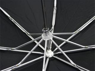 フラレフア(Hula Lehua)UVカット折りたたみ傘(日傘兼用)ブラックハイビスカス