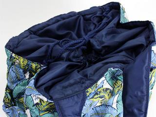 フララニ(Hula Lani)トートバッグ(XMサイズ)ハワイアンリーフ ホワイト