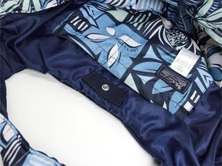 フララニ(Hula Lani)トートバッグ(Mサイズ)フラワーテキスタイル ネイビー