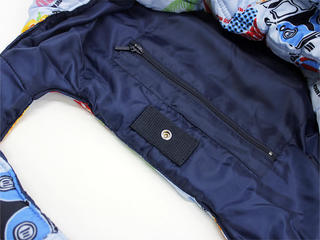 フララニ(Hula Lani)トートバッグ(Mサイズ)アロハビーチロゴ ライトブルー