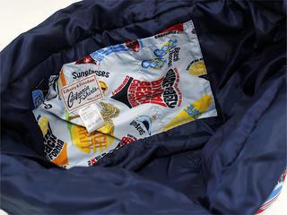 フララニ(Hula Lani)トートバッグ(XMサイズ)アロハビーチロゴ ライトブルー