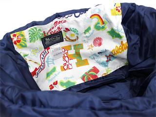フララニ(Hula Lani)トートバッグ(XMサイズ)アロハアイランド ホワイト