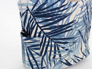 アロハメイド(Aloha MADE)キャンバス トートバッグ ラウアエリーフ ホワイト