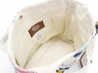 アロハメイド(Aloha MADE)キャンバス トートバッグ ホエールホワイト