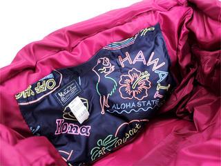 フララニ(Hula Lani)トートバッグ(XMサイズ)ハワイアンネオン ネイビー