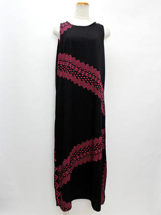Lahaina Aラインドレスワンピース ブラック