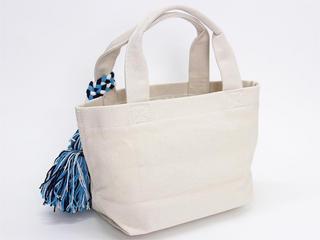 フララニ(Hula Lani)キャンバス トートバッグ サガラ刺繍ALOHAパイン