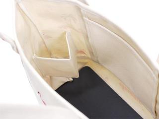 フララニ(Hula Lani)Antibalキャンバストートバッグ フラミンゴパームツリー