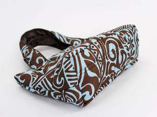 フララニ(Hula Lani)ミニミニトートバッグ タパ ブラウン