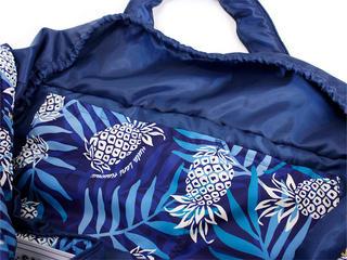 フララニ(Hula Lani)Lサイズトートバッグ パイングラデーション ネイビー