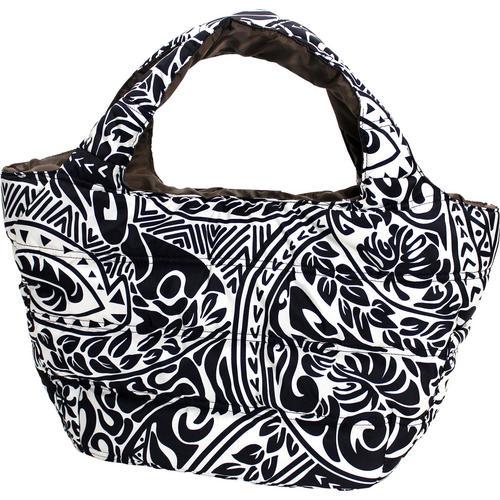 フララニ(Hula Lani)Mサイズトートバッグ タパ ブラック