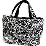 フララニ(Hula Lani)Lサイズトートバッグ タパ ブラック