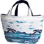 フララニ(Hula Lani)Lサイズトートバッグ サンセットビーチ ホワイト