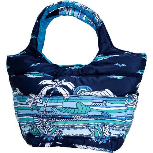 フララニ(Hula Lani)Mサイズトートバッグ サンセットビーチ ネイビー