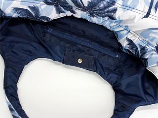フララニ(Hula Lani)Mサイズトートバッグ モンステラパームツリー ホワイト