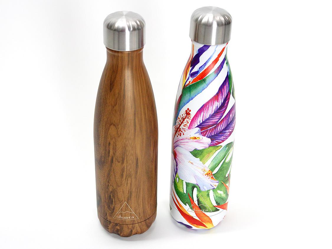 shasta公式ブランド 耐熱ボトル ハワイアンフラワー