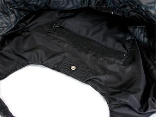 フララニ(Hula Lani)Mサイズトートバッグ タパリーフ ダークブラック