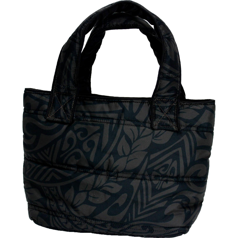 フララニ(Hula Lani)ミニミニトートバッグ タパリーフ ダークブラック