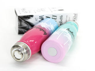 HALEIWA 公式ブランド耐熱ボトル 取手リング付き ピンク