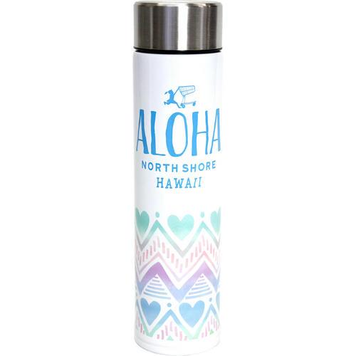 HALEIWA 公式ブランド耐熱ボトル ハートパステルブルー