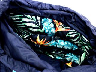 フララニ(Hula Lani)2wayトートバッグ バードオブパラダイス ネイビー