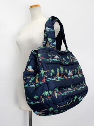 フララニ(Hula Lani)Lサイズトートバッグ ロコアイランド ネイビー