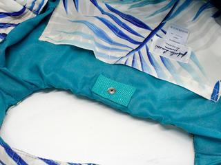 フララニ(Hula Lani)Mサイズトートバッグ ラウアエリーフ ベージュホワイト