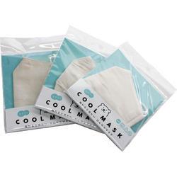 冷感素材ひんやりCOOLマスク立体型 ベージュ