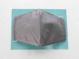 冷感素材ひんやりCOOLマスク立体型 アッシュグレー