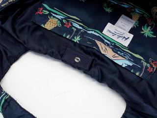フララニ(Hula Lani)Mサイズトートバッグ ロコアイランド ネイビー