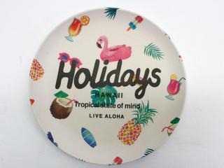 Holidays VINTAGEバンブープレート 5枚セット