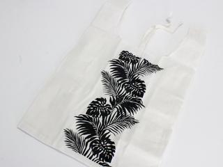 サステナブル ハワイアンエコバッグ ブラック