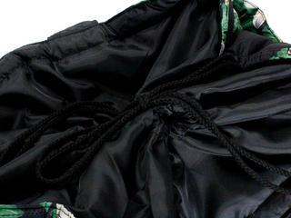 フララニ(Hula Lani)Lサイズトートバッグ モンステラプルメリアボーダー ブラック