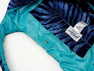 フララニ(Hula Lani)Mサイズトートバッグ ラウアエデザイン ネイビー