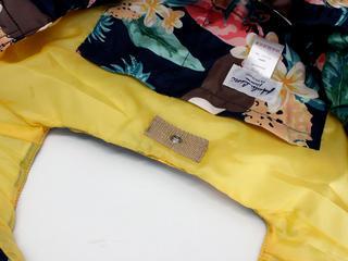 フララニ(Hula Lani)Mサイズトートバッグ ハワイアンパラダイス ネイビー