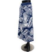フララニ(Hula Lani HAWAII)空紡糸天竺リバーシブルマキシスカート ネイビー