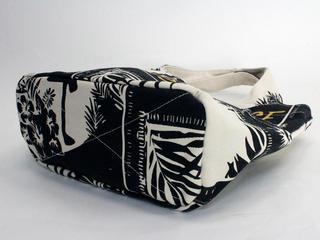 フララニ(Hula Lani)キャンバストートバッグ ハワイアンパラダイス モノトーン