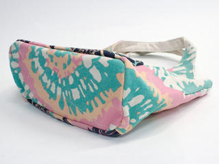 フララニ(Hula Lani)キャンバストートバッグ カラーリングブレッドフルーツ